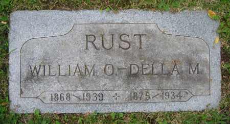 RUST, WILLIAM O. - Clark County, Ohio | WILLIAM O. RUST - Ohio Gravestone Photos