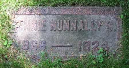 NUNNALLY SALZIGER, JENNIE - Clark County, Ohio | JENNIE NUNNALLY SALZIGER - Ohio Gravestone Photos