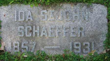SCHAEFFER, IDA - Clark County, Ohio | IDA SCHAEFFER - Ohio Gravestone Photos