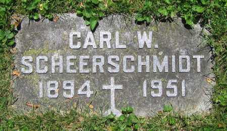 SCHEERSCHMIDT, CARL W. - Clark County, Ohio | CARL W. SCHEERSCHMIDT - Ohio Gravestone Photos