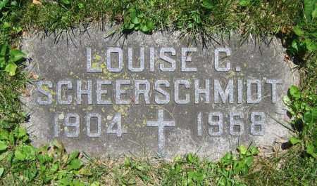 SCHEERSCHMIDT, LOUISE C. - Clark County, Ohio | LOUISE C. SCHEERSCHMIDT - Ohio Gravestone Photos