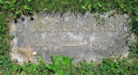 SCHENK, J. GEORGE - Clark County, Ohio   J. GEORGE SCHENK - Ohio Gravestone Photos