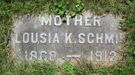 SCHMID, LOUISA K. - Clark County, Ohio | LOUISA K. SCHMID - Ohio Gravestone Photos
