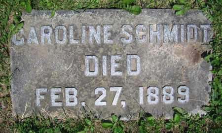 SCHMIDT, CAROLINE - Clark County, Ohio | CAROLINE SCHMIDT - Ohio Gravestone Photos