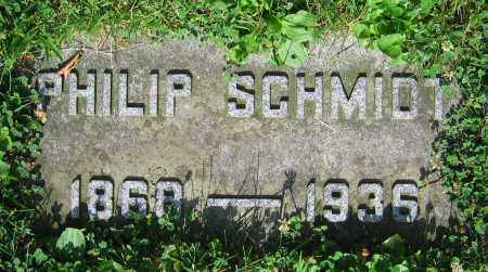 SCHMIDT, PHILIP - Clark County, Ohio | PHILIP SCHMIDT - Ohio Gravestone Photos