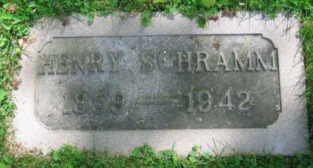 SCHRAMM, HENRY - Clark County, Ohio | HENRY SCHRAMM - Ohio Gravestone Photos