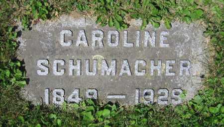 SCHUMACHER, CAROLINE - Clark County, Ohio | CAROLINE SCHUMACHER - Ohio Gravestone Photos
