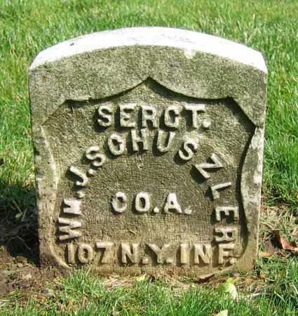 SCHUSZLER, WM. J. - Clark County, Ohio | WM. J. SCHUSZLER - Ohio Gravestone Photos