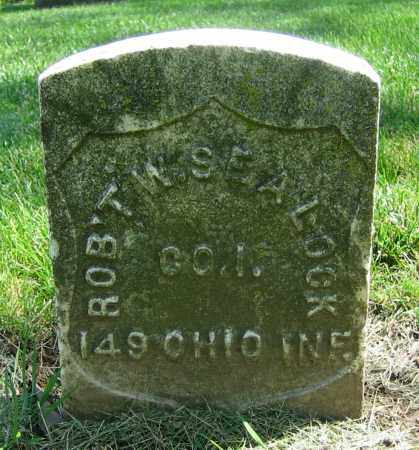 SEALOCK, ROBERT W. - Clark County, Ohio | ROBERT W. SEALOCK - Ohio Gravestone Photos