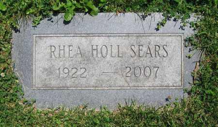 SEARS, RHEA - Clark County, Ohio | RHEA SEARS - Ohio Gravestone Photos
