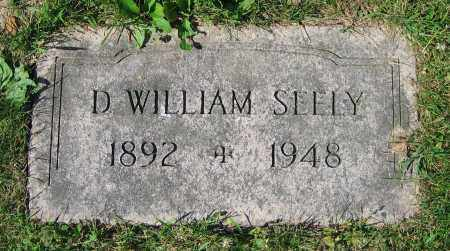 SEELY, D. WILLIAM - Clark County, Ohio   D. WILLIAM SEELY - Ohio Gravestone Photos