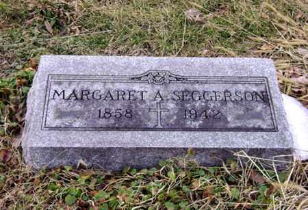 SEGGERSON, MARGARET A. - Clark County, Ohio | MARGARET A. SEGGERSON - Ohio Gravestone Photos