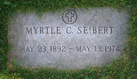 SEIBERT, MYRTLE C. - Clark County, Ohio | MYRTLE C. SEIBERT - Ohio Gravestone Photos