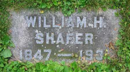 SHAFER, WILLIAM H. - Clark County, Ohio | WILLIAM H. SHAFER - Ohio Gravestone Photos