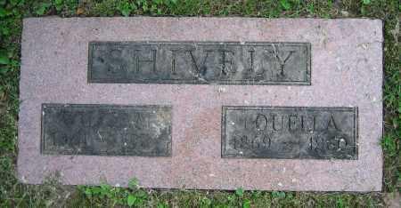 SHIVELY, LOUELLA - Clark County, Ohio | LOUELLA SHIVELY - Ohio Gravestone Photos