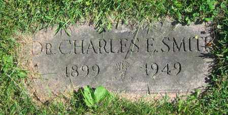 SMITH, CHARLES E.  DR. - Clark County, Ohio   CHARLES E.  DR. SMITH - Ohio Gravestone Photos