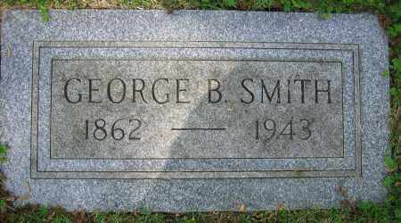 SMITH, GEORGE B. - Clark County, Ohio | GEORGE B. SMITH - Ohio Gravestone Photos