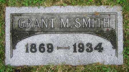 SMITH, GRANT M. - Clark County, Ohio   GRANT M. SMITH - Ohio Gravestone Photos