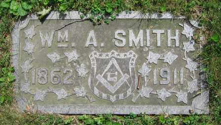 SMITH, WM. A. - Clark County, Ohio   WM. A. SMITH - Ohio Gravestone Photos