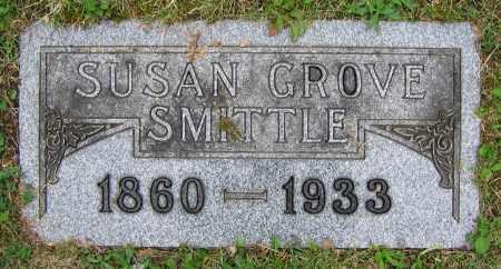 GROVE SMITTLE, SUSAN - Clark County, Ohio | SUSAN GROVE SMITTLE - Ohio Gravestone Photos