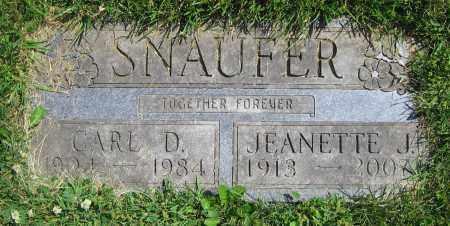 SNAUFER, CARL D. - Clark County, Ohio | CARL D. SNAUFER - Ohio Gravestone Photos