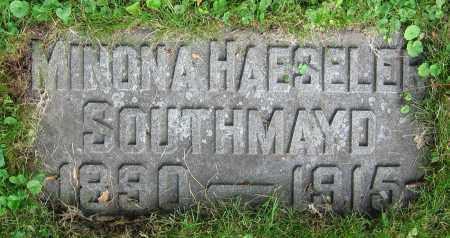 HAESELER SOUTHMAYD, MINONA - Clark County, Ohio | MINONA HAESELER SOUTHMAYD - Ohio Gravestone Photos