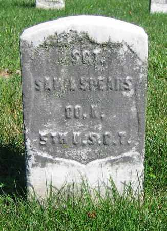 SPEARS, SAM'L - Clark County, Ohio | SAM'L SPEARS - Ohio Gravestone Photos