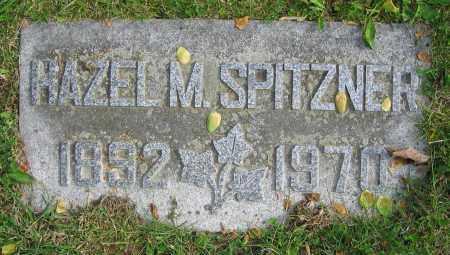 SPITZNER, HAZEL M. - Clark County, Ohio | HAZEL M. SPITZNER - Ohio Gravestone Photos
