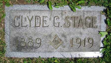 STAGE, CLYDE G. - Clark County, Ohio | CLYDE G. STAGE - Ohio Gravestone Photos