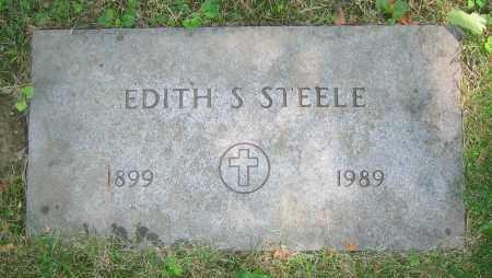 STEELE, EDITH S. - Clark County, Ohio | EDITH S. STEELE - Ohio Gravestone Photos
