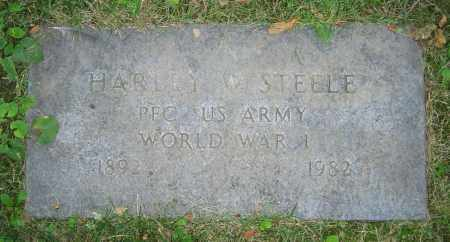 STEELE, HARLEY W. - Clark County, Ohio | HARLEY W. STEELE - Ohio Gravestone Photos