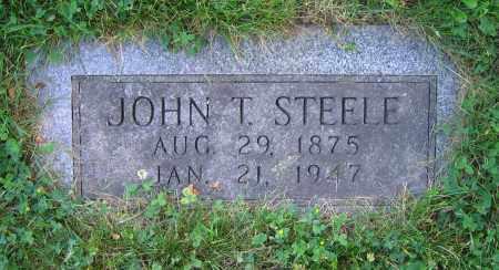 STEELE, JOHN T. - Clark County, Ohio   JOHN T. STEELE - Ohio Gravestone Photos