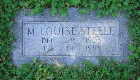 STEELE, M. LOUISE - Clark County, Ohio | M. LOUISE STEELE - Ohio Gravestone Photos