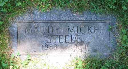MICKEL STEELE, MAUDE - Clark County, Ohio | MAUDE MICKEL STEELE - Ohio Gravestone Photos
