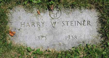 STEINER, HARRY W. - Clark County, Ohio   HARRY W. STEINER - Ohio Gravestone Photos