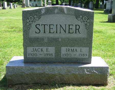 STEINER, JACK E. - Clark County, Ohio | JACK E. STEINER - Ohio Gravestone Photos