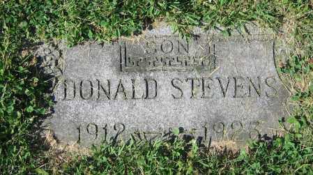 STEVENS, DONALD - Clark County, Ohio | DONALD STEVENS - Ohio Gravestone Photos