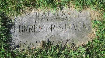 STEVENS, FORREST R. - Clark County, Ohio | FORREST R. STEVENS - Ohio Gravestone Photos
