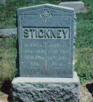 STICKNEY, OLIVE L - Clark County, Ohio | OLIVE L STICKNEY - Ohio Gravestone Photos