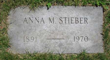 STIEBER, ANNA M. - Clark County, Ohio | ANNA M. STIEBER - Ohio Gravestone Photos