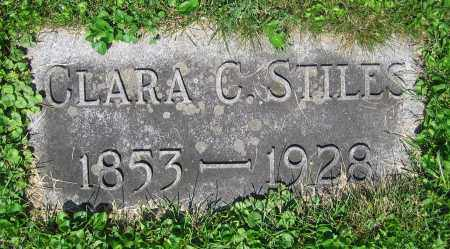 STILES, CLARA C. - Clark County, Ohio | CLARA C. STILES - Ohio Gravestone Photos