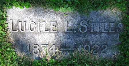 STILES, LUCILE L. - Clark County, Ohio | LUCILE L. STILES - Ohio Gravestone Photos