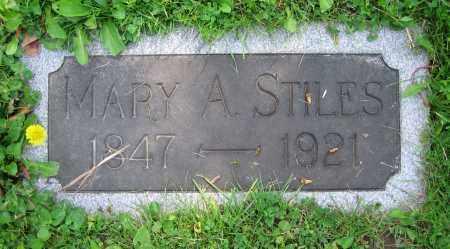 STILES, MARY A. - Clark County, Ohio   MARY A. STILES - Ohio Gravestone Photos