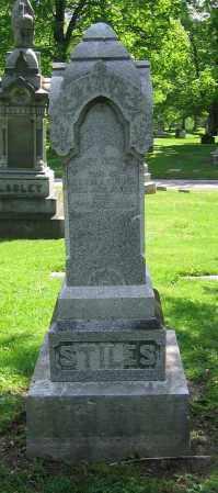 STILES, MARY OCENA - Clark County, Ohio | MARY OCENA STILES - Ohio Gravestone Photos