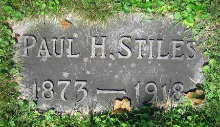 STILES, PAUL H. - Clark County, Ohio   PAUL H. STILES - Ohio Gravestone Photos