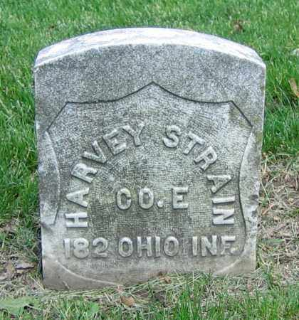 STRAIN, HARVEY - Clark County, Ohio   HARVEY STRAIN - Ohio Gravestone Photos