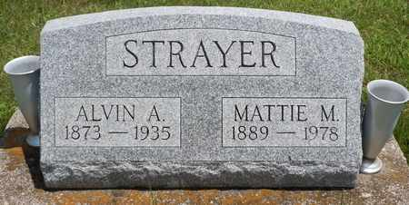 STRAYER, MATTIE - Clark County, Ohio | MATTIE STRAYER - Ohio Gravestone Photos