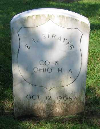STRAYER, E.L. - Clark County, Ohio | E.L. STRAYER - Ohio Gravestone Photos