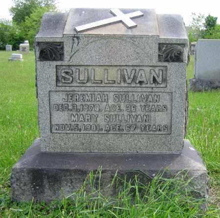SULLIVAN, MARY - Clark County, Ohio | MARY SULLIVAN - Ohio Gravestone Photos
