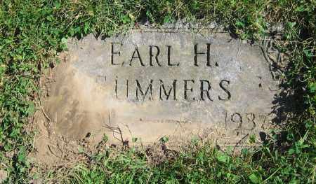 SUMMERS, EARL H. - Clark County, Ohio | EARL H. SUMMERS - Ohio Gravestone Photos